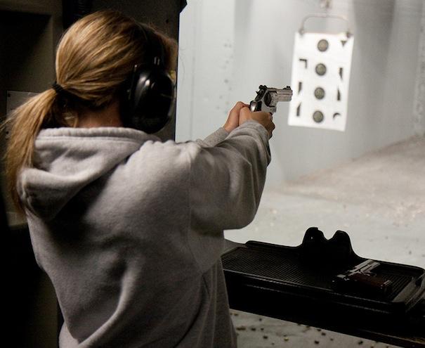 Targetshooting vrouwen