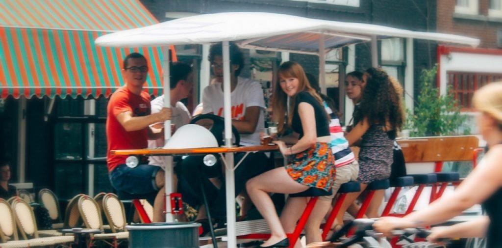 Amsterdam Prosecco Bike